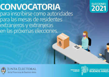 Convocan a autoridades de mesas receptoras de votos de residentes extranjeros