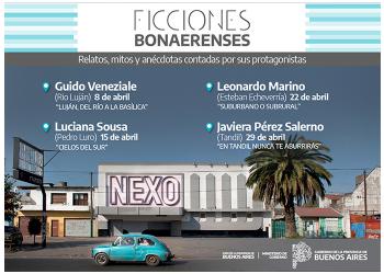 Agenda Ficciones Bonaerenses para abril