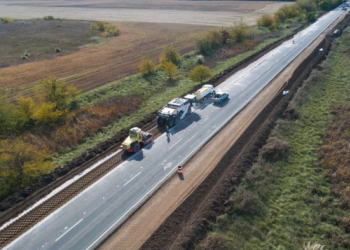 Avanza la repavimentación de más de 60 kilómetros de la Ruta Provincial N° 65