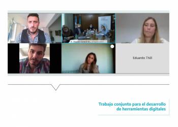 Reunión de trabajo conjunto para el desarrollo de herramientas digitales