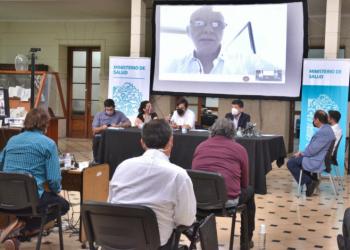 LA PROVINCIA, EL SECTOR PRIVADO Y DE LA SEGURIDAD SOCIAL ACORDARON CRITERIOS