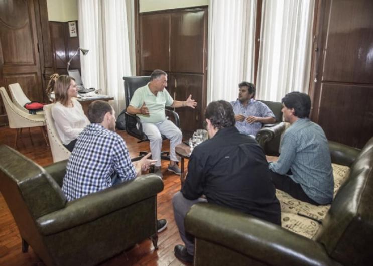Visita al Espacio de Memoria Ex Brigada de Las Flores y reunión con el Intendente Gelené