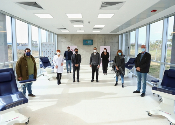 Kicillof participó de la inauguración del Centro Regional de ...