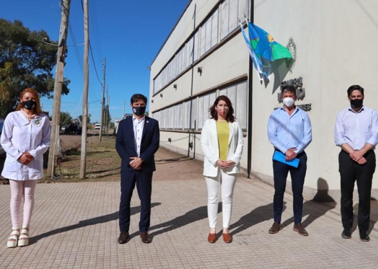 Axel Kicillofencabezó en Moreno la inauguración de instalaciones educativas
