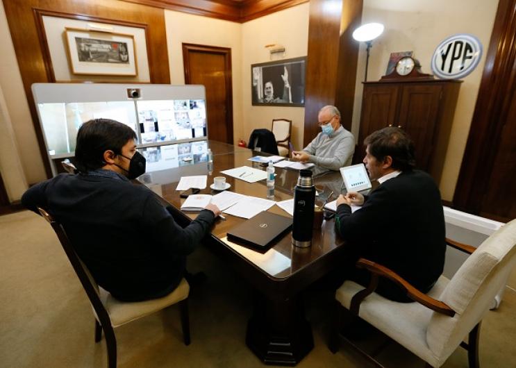 Kicillof con directores de hospitales provinciales
