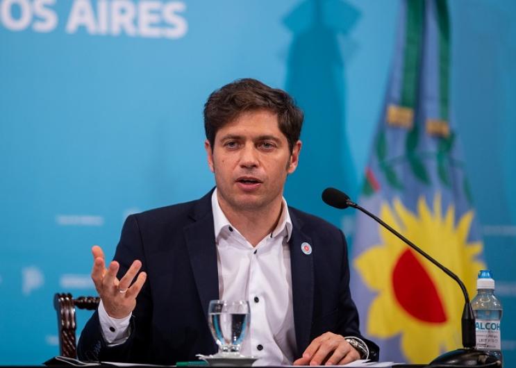 En la Casa de Gobierno de La Plata