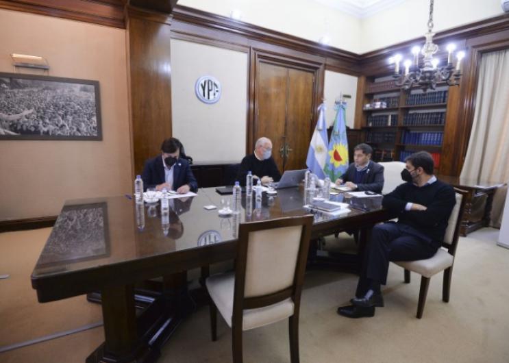 Axel Kicillof se reunió con expertos