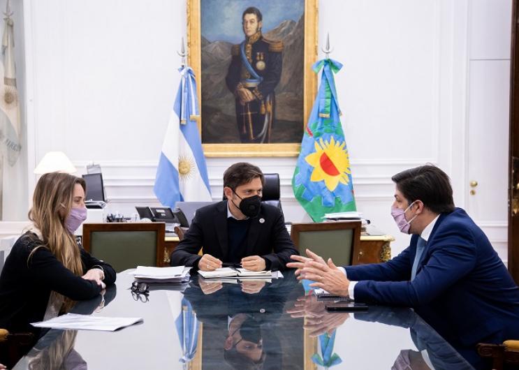 Reunión con el ministro Trotta