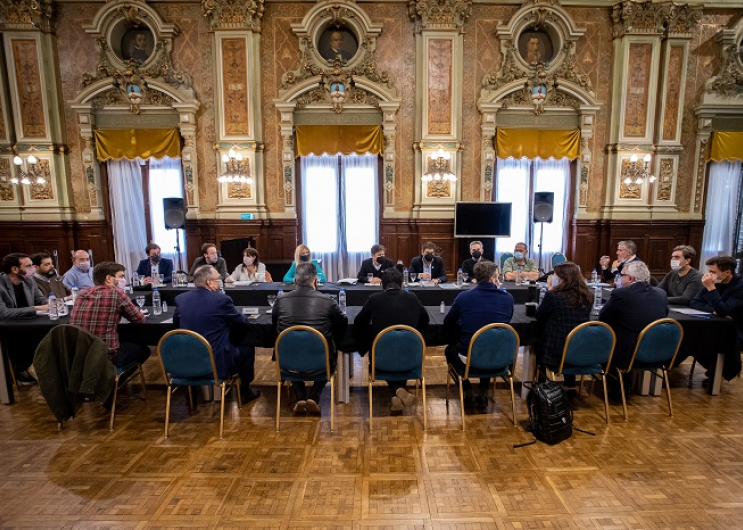 El encuentro se desarrolló en Casa de Gobierno