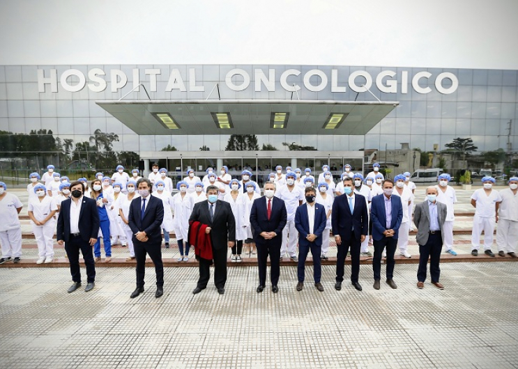 Visita a un hospital de José C Paz