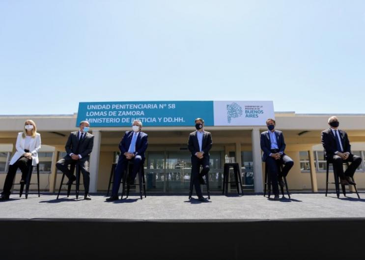 """Kicillof: """"Empezamos a transitar el camino de la solución de los problemas estructurales de la Provincia"""""""