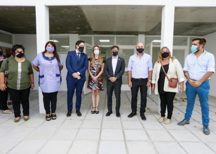 Kicillof, Trotta y Vila inauguraron el ciclo lectivo 2021
