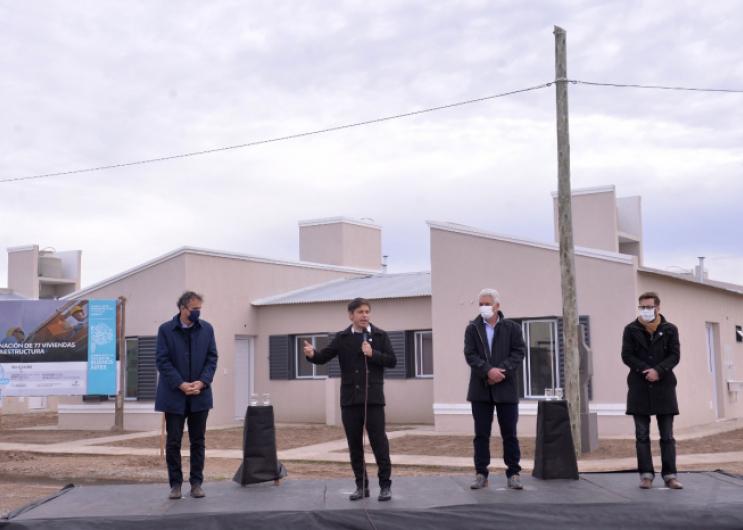 Se entregaron nuevas viviendas en Carmen de Patagones