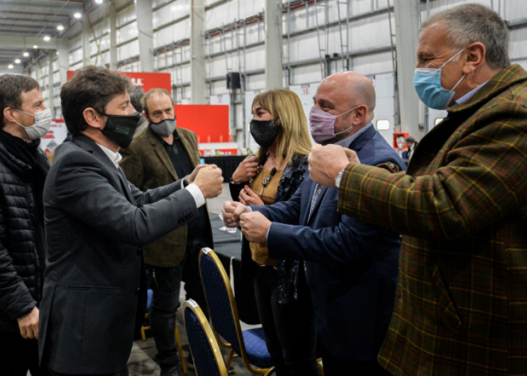 Kicillof se reunió con industriales bonaerenses en General Rodríguez