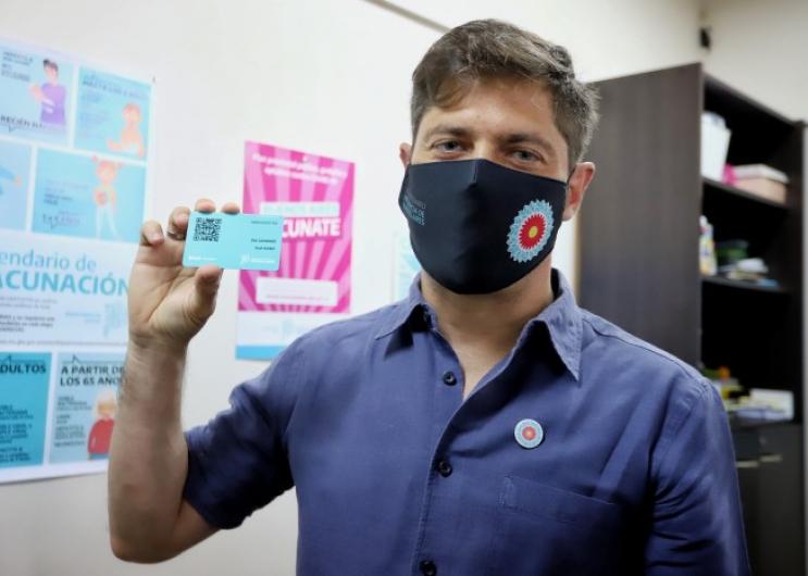 Axel Kicillof brindó detalles del plan de vacunación