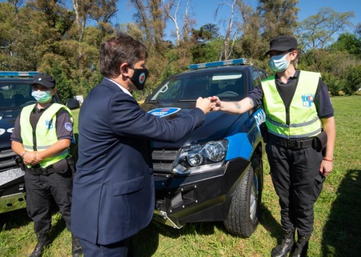La Provincia puso en marcha 54 nuevos patrulleros en Pilar