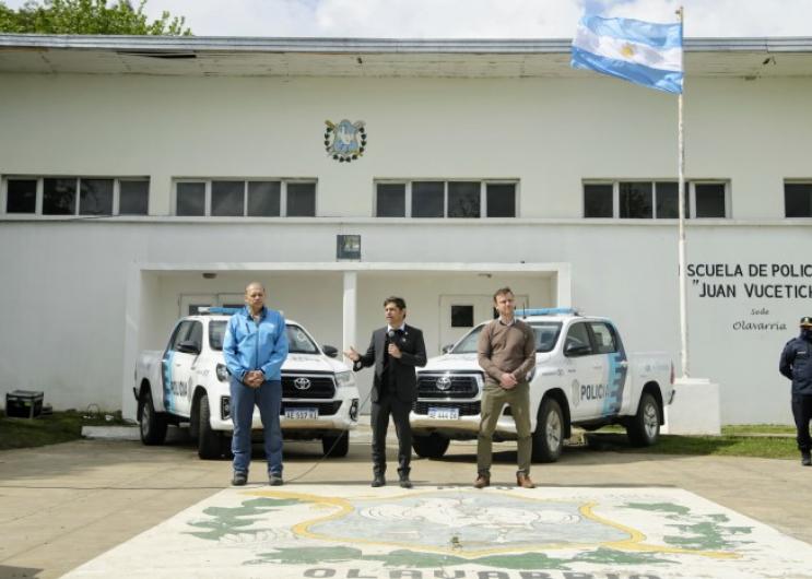 Kicillof anunció un aumento salarial para las fuerzas de seguridad de la Provincia