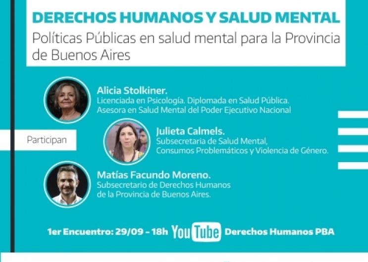 """Ciclo de conversatorios """"Derechos Humanos y Salud Mental"""""""