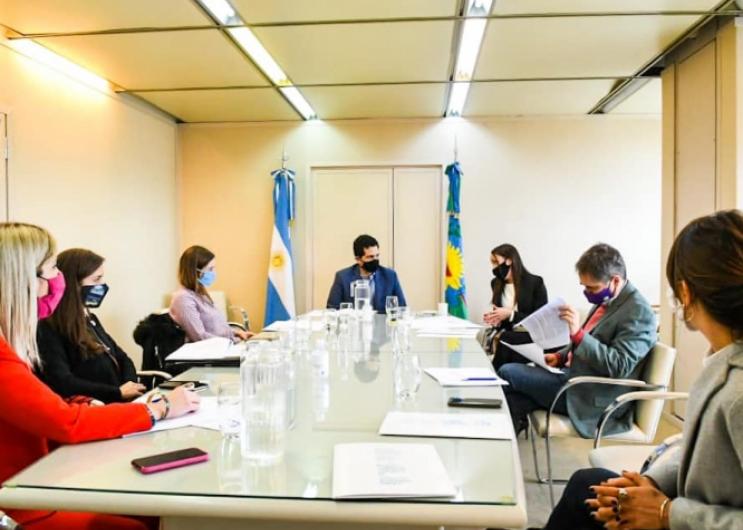 Primera reunión de la mesa preparatoria para la elaboración del proyecto de Ley de Ética Pública y Transparencia de la provincia