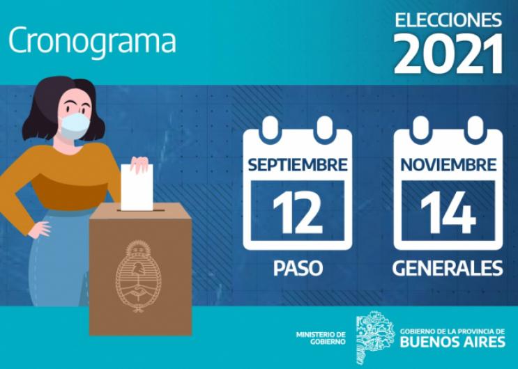 La Provincia de Buenos Aires oficializó las fechas de los comicios electorales | Provincia de Buenos Aires