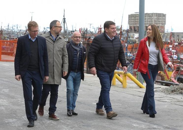Vidal anunció hoy medidas de acompañamiento para PyMEs del sector naval y parques industriales en Mar del Plata.