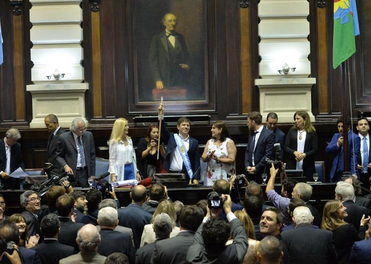 Axel Kicillof y Verónica Magario juraron como Gobernador y Vicegobernadora de la Provincia de Buenos Aires