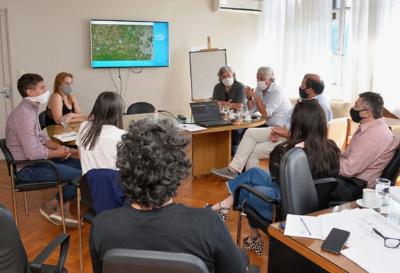 El encuentro fue encabezado por Guillermo Jelinski, la Diputada Soledad Alonso, Gustavo Colli  y Jorge Balbín Zarif.