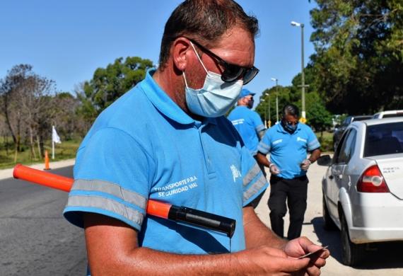 Operativos de control vehicular en Pinamar y Villa Gesell