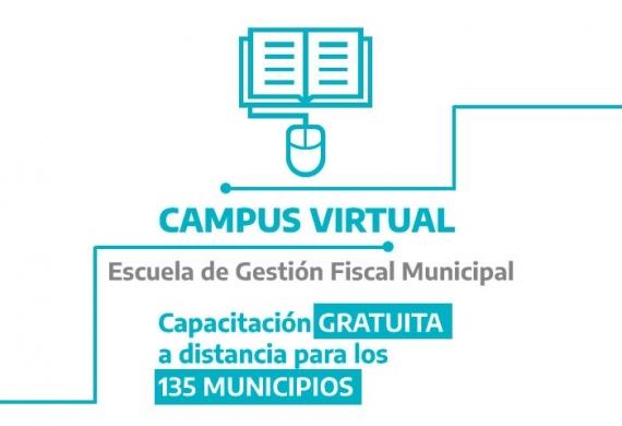 La Provincia capacita en forma virtual al personal de los municipios