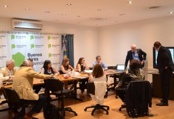 María Teresa García se reunió con representantes del Ente Nacional Regulador de la Energía (ENRE) y de la empresa Edenor