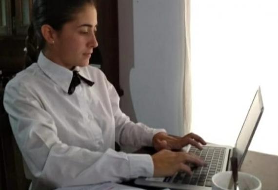 Alumna de la Tecnicatura  en Gestión Penitenciaria