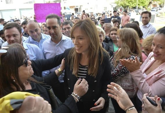 """Vidal inauguró hoy el nuevo Centro de Atención Primario de la Salud """"René Favaloro"""", en Morón."""