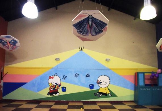 La Plata: la Secretaría General pone en valor al SUM del Jardín Maternal Ensueño