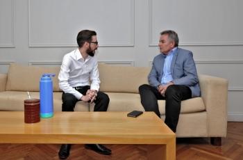 La reunión se llevó a cabo en el Ministerio de Infraestructura