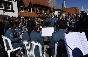 Brindamos un recital en República de los Niños para despedir las vacaciones de invierno