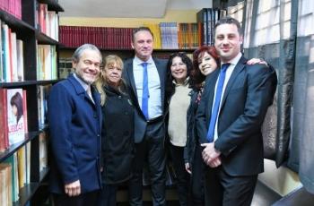 Inauguramos una biblioteca en la Alcaidía de Lomas de Zamora