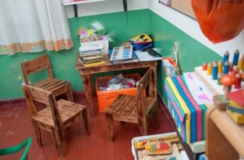 Donamos mobiliario fabricado por internos al Hospital Belgrano de San Martín