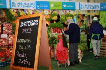 Nuevo punto de El Mercado en Tu Barrio en La Plata