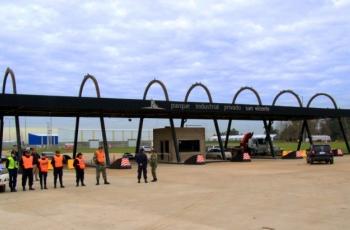 Imagen de ingreso al Parque Industrial Privado San Vicente