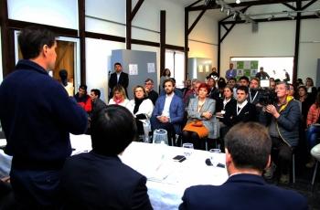 Empresarios y emprendedores de la región se capacitan sobre el plan de cooperación