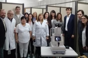 El hospital San Martín sumó un nuevo equipo para prevenir la ceguera por diabetes